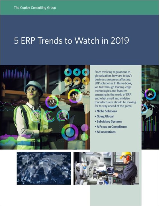 5 ERP Trends to Watch in 2019 cover