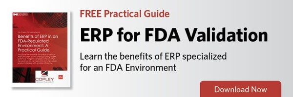 ERP for FDA Validation